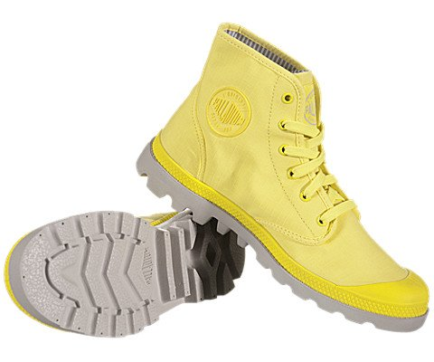 PALLADIUM Pampa Hi Lite B.Yellow/Vapor Men's Lace Up Ankle Chukka Boots