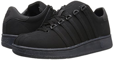 K-SWISS Classic 96 P Men's Leather Tennis Shoes in Black/Ice