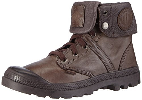 PALLADIUM Pallabrouse Baggy L2 Men's Fold Down Lace Up Hiking Combat Boots in Ganache