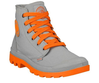 PALLADIUM Duo Chrome Armor/Coral Unisex Lace Up Contrasting Colors Ankle Chukka Boots