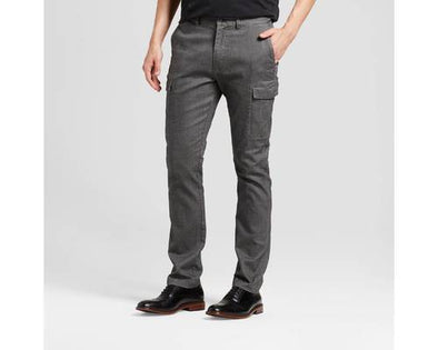 Goodfellow & Co Men's Grey Slim Cargo Pants