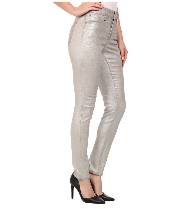 NYDJ Not Your Daughters Jeans Ami SILVERPEAK FOIL Super Skinny $168