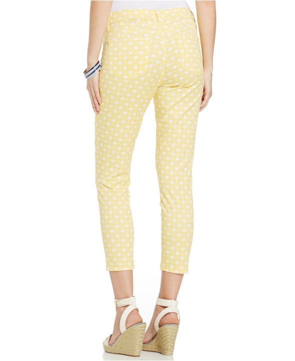 LEMON Print Ankle NYDJ Not Your Daughters Jeans PANTS