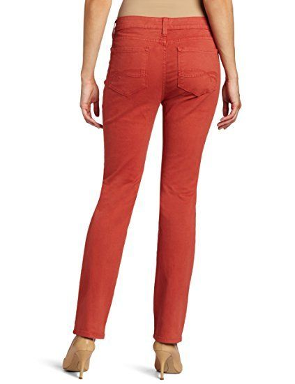 NYDJ Not Your Daughters Jeans VENETIAN ROSE Straight Leg