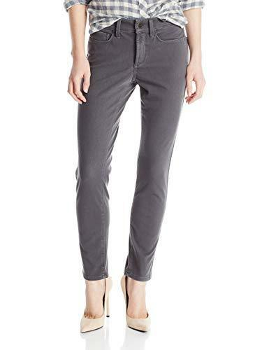 NYDJ Not Your Daughters Jeans Alina Dark Graphite (Grey) Legging Pants Women's Petite