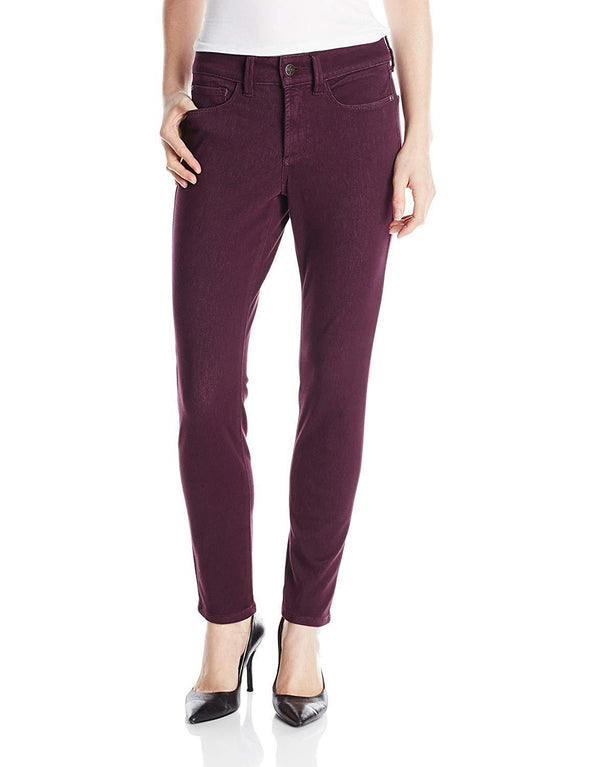 NYDJ Not Your Daughters Jeans AUBERGINE Leggings Slimming Pants Petite