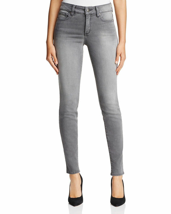 NYDJ Not Your Daughters Jeans PEARL GREY Skinny/Slim Jeans Women's Petite Pants