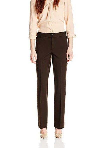 NYDJ Not Your Daughters Jeans MICHELLE MOLASSES TROUSER Pants $110 Petite