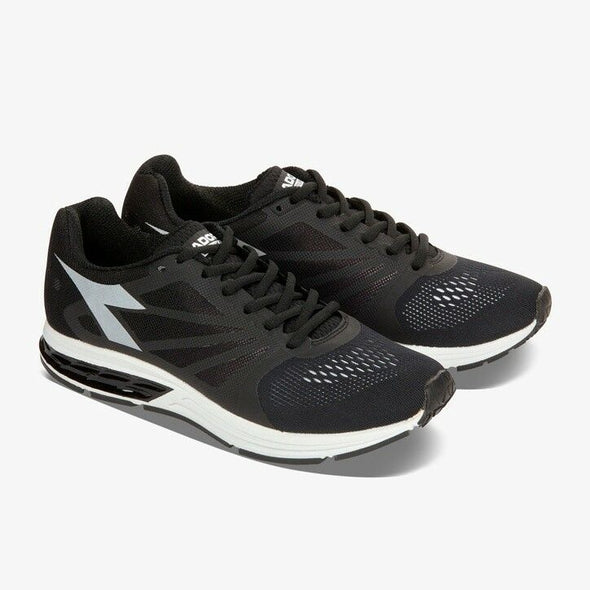 DIADORA Kuruka W Black/White Athletic Running Sneakers Women's Size 7