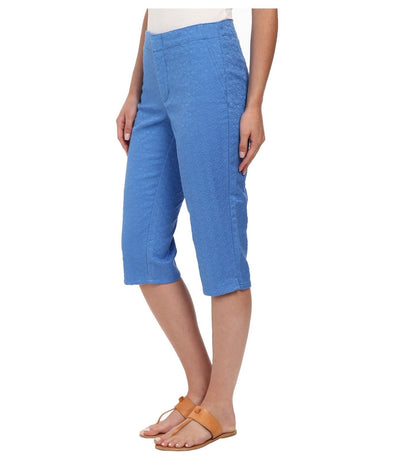 Not Your Daughters Jeans NYDJ Slimming STELLAR BLUE Skimmer Shorts