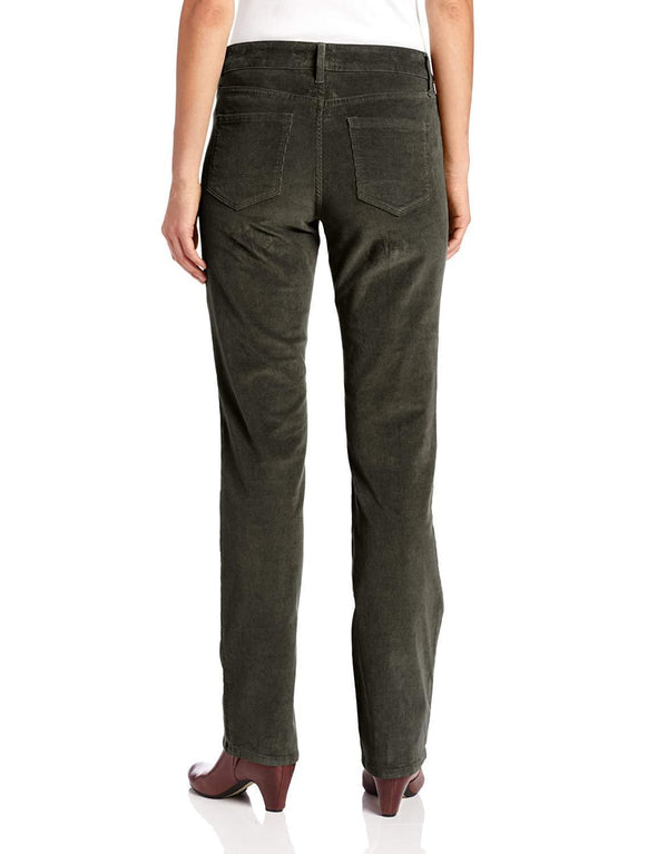 NYDJ Not Your Daughters Jeans SPANISH MOSS CORDUROY Straight Leg Pant