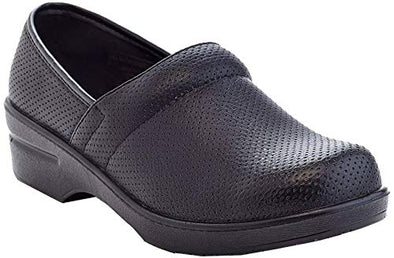 RASOLLI Dannis Black Perforated Comfort Clogs Women's Size 8