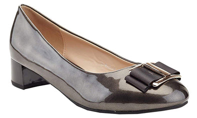 Lady Godiva Elena Women's Low Block Heel Dress Shoes