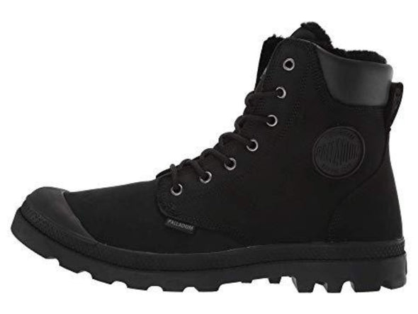 PALLADIUM Pampa Sport Cuff WPS Men's Pineneedle/Black Lace Up Ankle Hiking Boots
