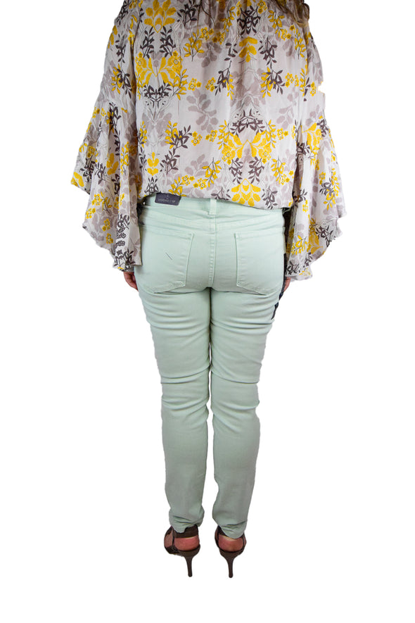 NYDJ Not Your Daughters Jeans PASTEL MEADOW GREEN Petite Legging Petite