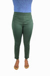 NYDJ Not Your Daughters Jeans ALPINE GREEN Pull On Legging Petite