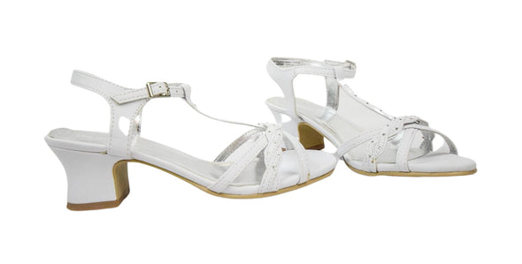 Kenneth Cole Unsweet Girl's How Sweet PU Strappy White Sandals