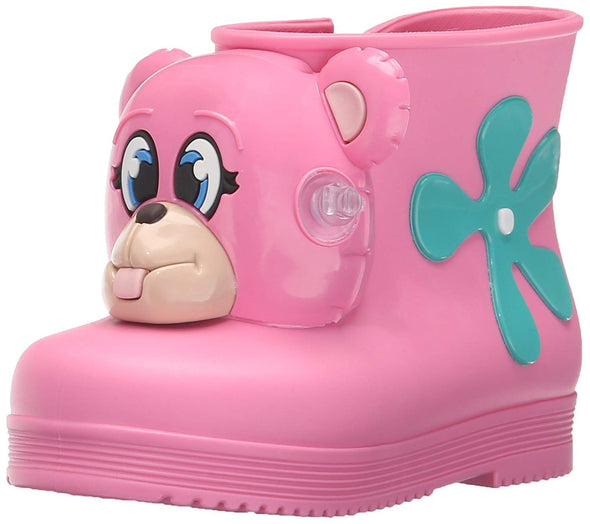 Melissa + Jeremy Scott Monkey Boot Mary Jane (Toddler) PINK or GREEN Runs Small