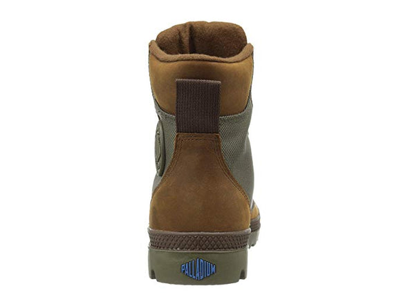 Palladium Pampa Sport Cuff WPN Unisex Leather & Mesh Boots in Bridle Brown