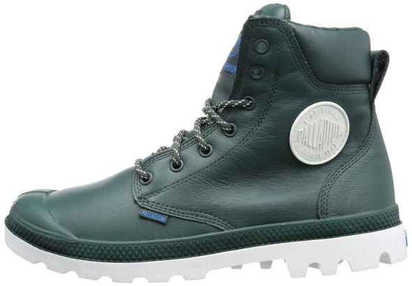PALLADIUM Pampa Sport Cuff WP Leather Nocturnal/White Men's Lace Up Combat Hiking Boots