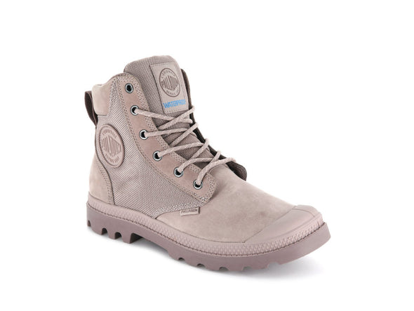 Palladium Pampa Sport Cuff WPN Unisex Leather Ankle Hiking Combat Boots Fawn/Antler