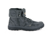Palladium Pallabrouse Baggy Wax Forged Metal/Forged Iron Unisex Canvas Fold Down Collar Boots