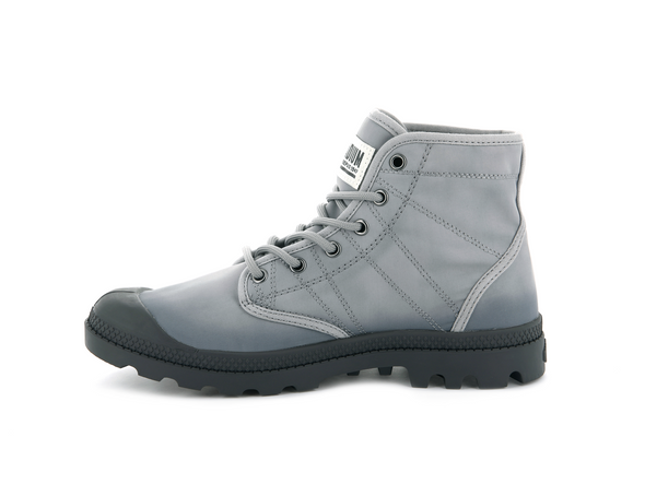 Palladium Pallabrousse TX Unisex Ankle Boots in Ash/Dark Gull Grey