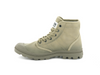 New with Defects Palladium Pallabrousse TX Unisex Ankle Boots in Safari/Dune