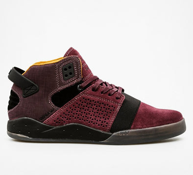 Supra Skytop III CD Men's Burgundy Athletic Skate Boarding Sneakers