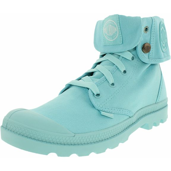 PALLADIUM Baggy M Women's Blueberry Fold Over Combat Hiking Ankle Boots