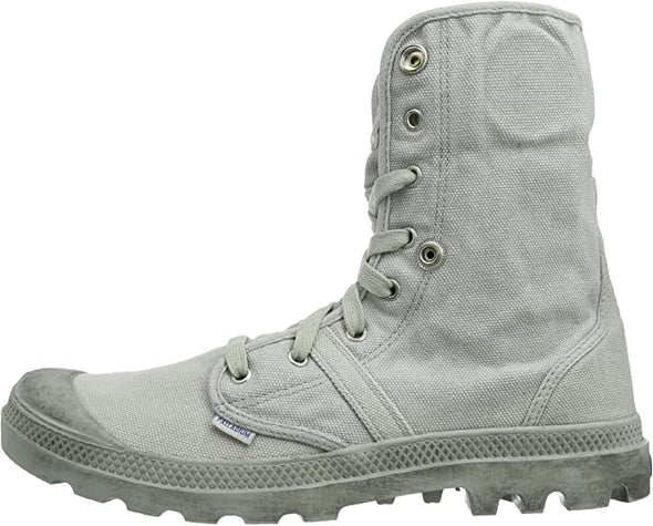 PALLADIUM Pallabrouse Baggy Men's Foldover Vapor/Classic Blue Lace Up Boots