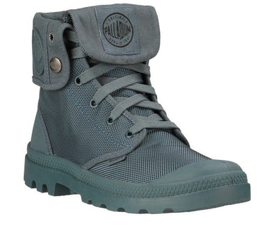 PALLADIUM Mono Chrome Baggy II Unisex Fold Down Combat Hiking Boots in Nordic Blue