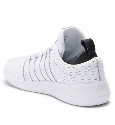 K-Swiss Gen-K Icon Men's White/Black Low Leather Athletic Sneakers