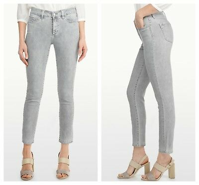 NYDJ Not Your Daughters Jeans Kimora ALLOY GREY Ankle Petite Denim $130