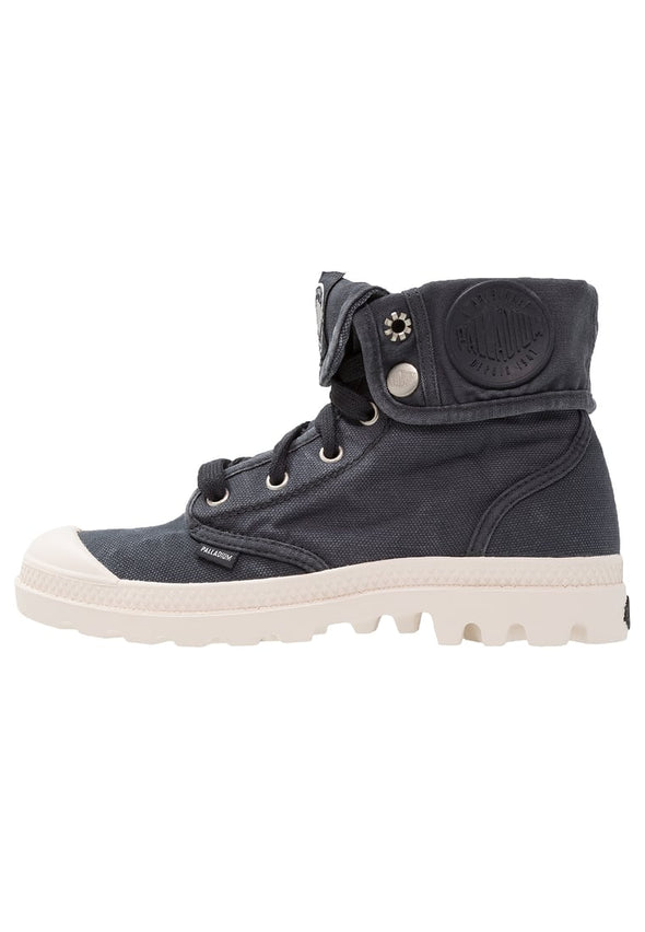 Palladium Baggy Women's Lace-Up Ankle Boots Anthracite/Marshmallow
