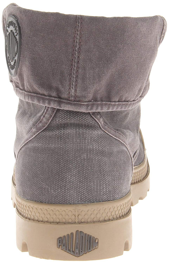 PALLADIUM Pallabrouse Baggy Asphalt Men's Canvas Fold Over Hiking Boots