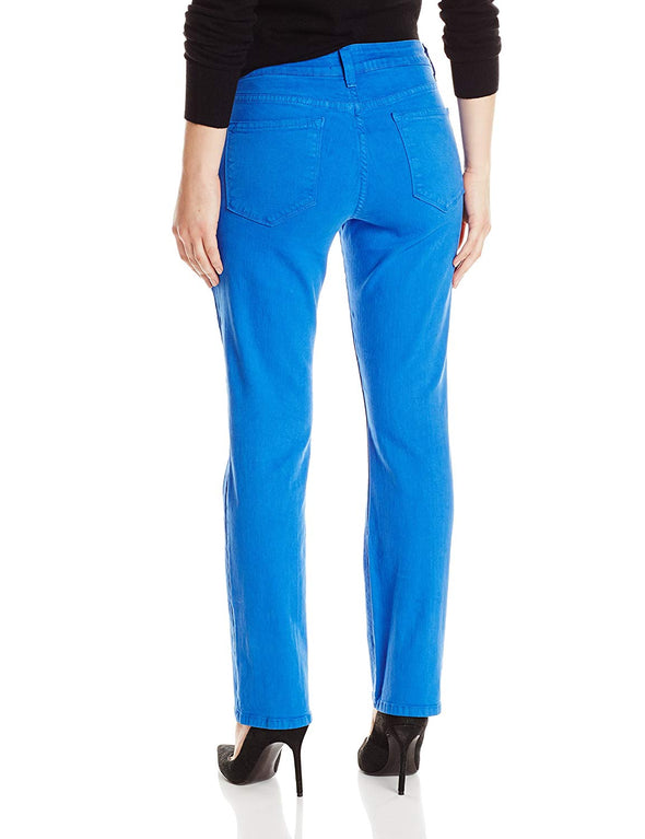 NYDJ Not Your Daughters Jeans Marilyn STRAIGHT ATLBL ATLANTIS BLUE