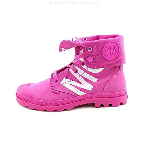 Palladium Baggy Women's Hi-Top Sneaker Lace Up Combat Boots MTTM Pink