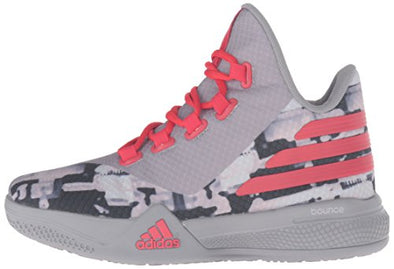 adidas Performance Light EM Up 2 J Shoe BIG KID/Women's Solid Grey/Ray Red Onix