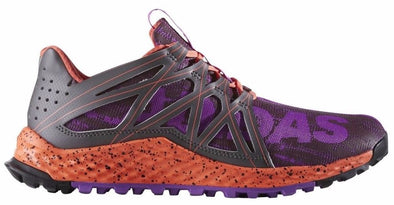 Adidas VIGOR BOUNCE Women's Athletic Trail Runner Shoes Purple Coral