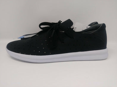 MOSSIMO Janai Black Cutout Lace Up Low Top Sneakers Women's Size 11