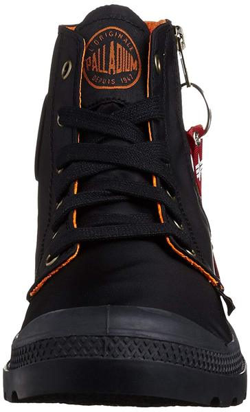 Palladium Pampa Hi Zip MA-1 Women's Black/Orange Ankle Hiking Boots