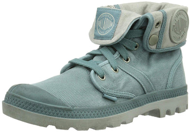 Palladium Women's Pallabrouse Baggy Chukka Boots Smoke Blue/Vapor (Gray)