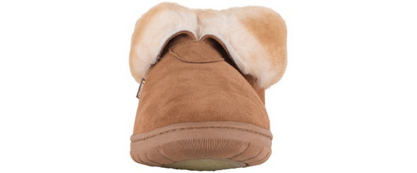 Lamo Men's Bootie Double Face Australian Sheepskin CM1945 Slipper Boots Chestnut