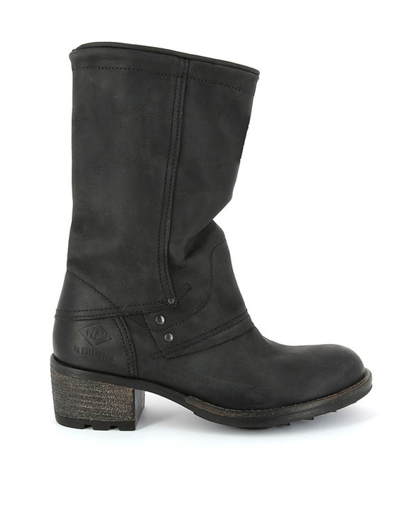 PLDM by Palladium Capper CRS Women's Mid-Calf Leather Boots in Black