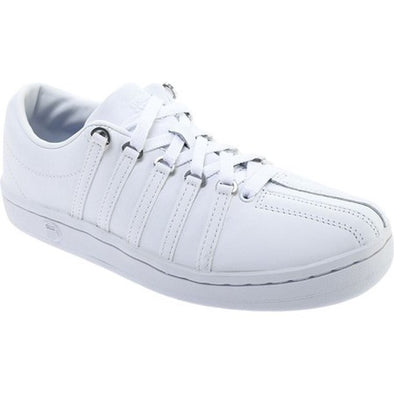 K-Swiss Classic 88 Leather Women's White/White Athletic Shoes 92248-101-M
