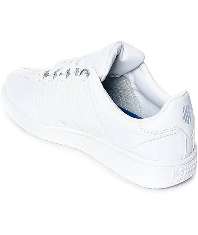 K-Swiss Classic VN Women's Low White/White Shoes 93343-101-M