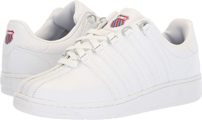 K-Swiss Classic VN Heritage Men's Low Wht/ClsicBlu/Rbnrd Sneakers