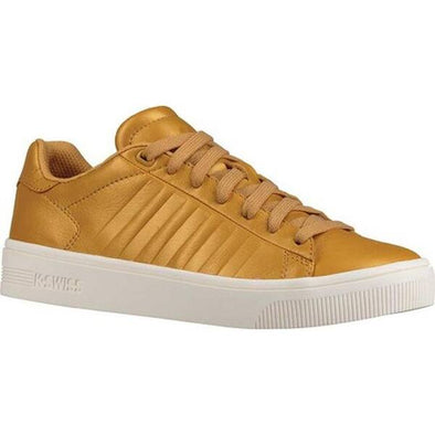 K-Swiss Classic Court Frasco Women's Low Bright Gold/Marshmallow Shoes