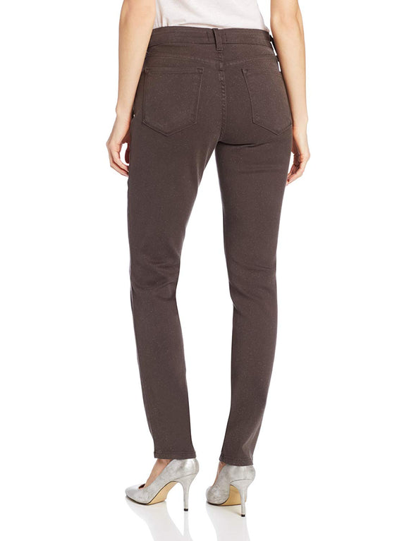 NYDJ Not Your Daughters Jeans ALINA ASH (Dark Grey) Glittery Legging